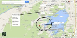 Hash 148 and Hostels general location map - Marked Final v2