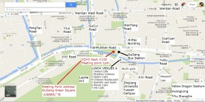 HZH3 Hash 150 - Sat 25 Oct 1pm - Bus meeting point and suggested lunch venues v2 final