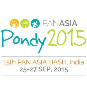 Pondy - Pan Asia Hash 25-27 Sep 2015