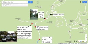 Hash 162 - 11 Apr 2015 - Start location Qiao Garden Restaurant and Hotel v2a marked
